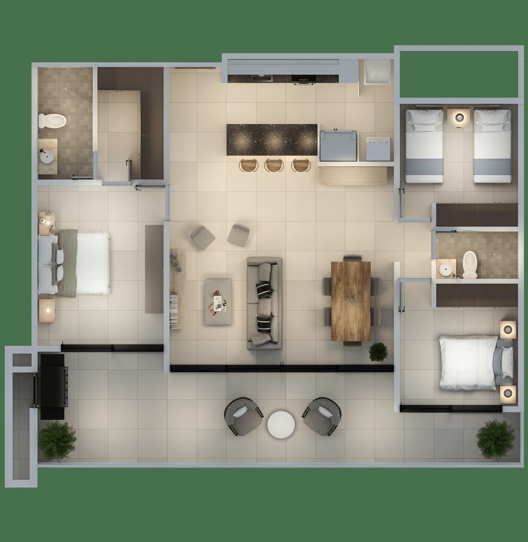 Apartamento 128