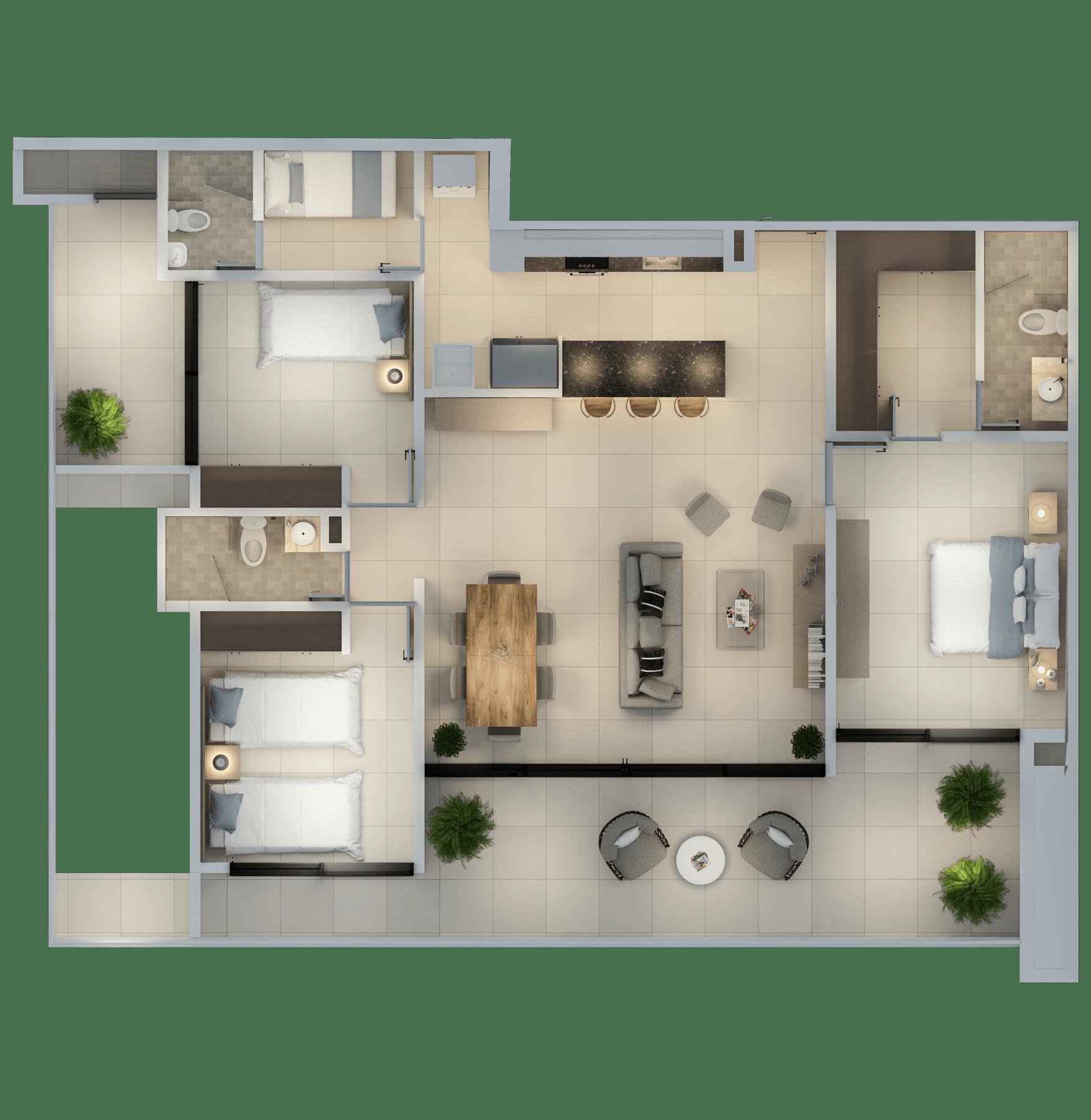 Apartamento 144