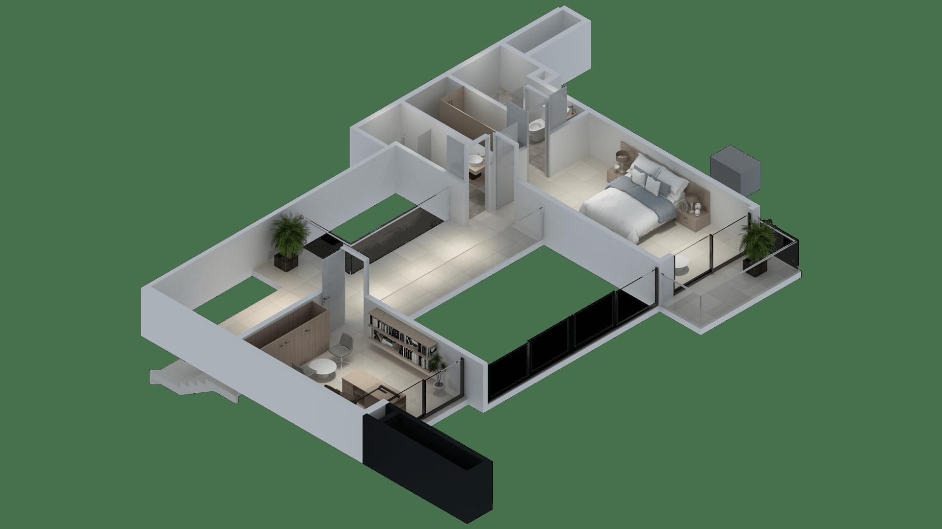 Planta 2 3D